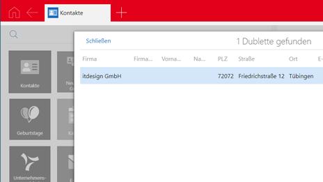 Dubletten mit dem Duplicate Finder pro finden
