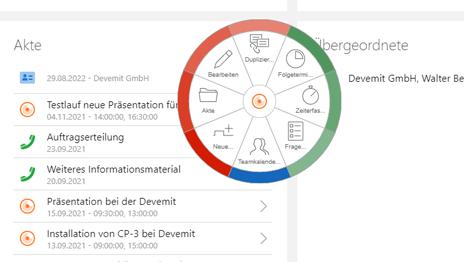 Überblick über jedes einzelne Projekt in CASgenesisWorld erhalten
