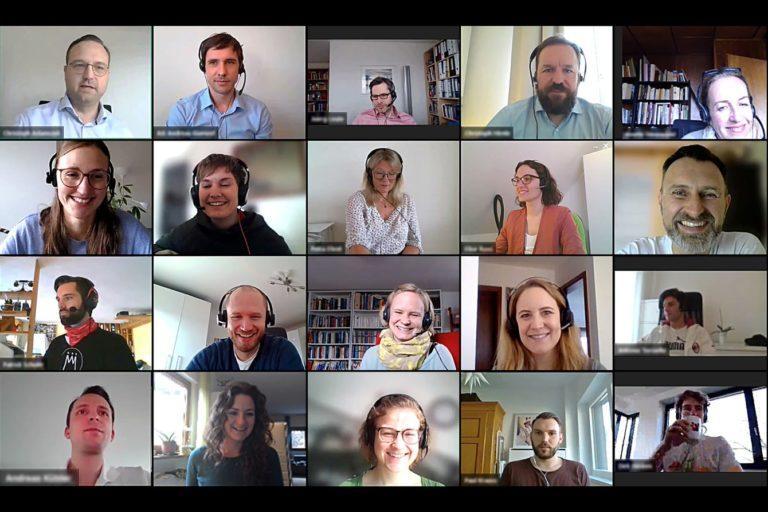 Virtuelle Zusammenarbeit bei der Einführung von CAS genesisWorld
