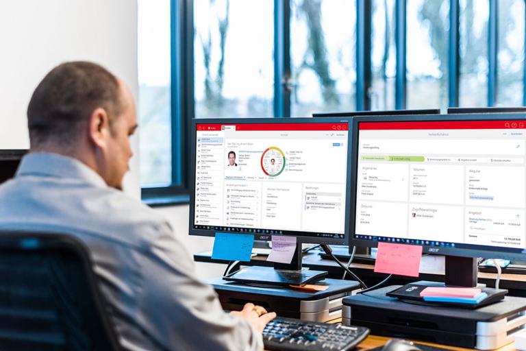 Leadmanagement und Verkaufschancenmanagement mit CAS genesisWorld